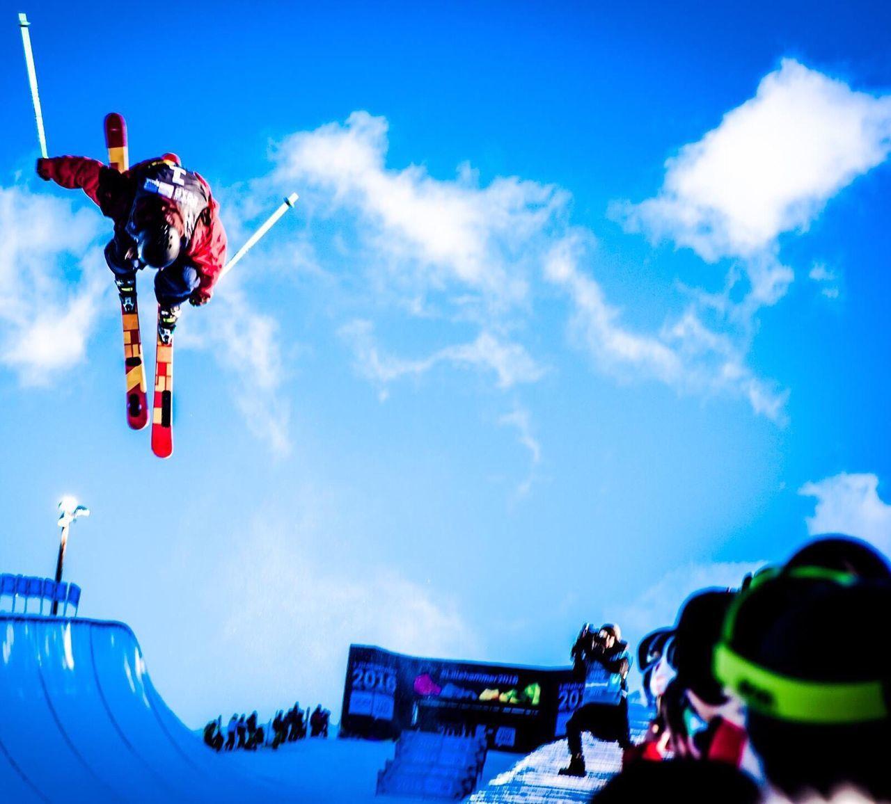 Showcase: February Yogdna Lillehammer2016 Oslo Norway Superpipe Freeskiing