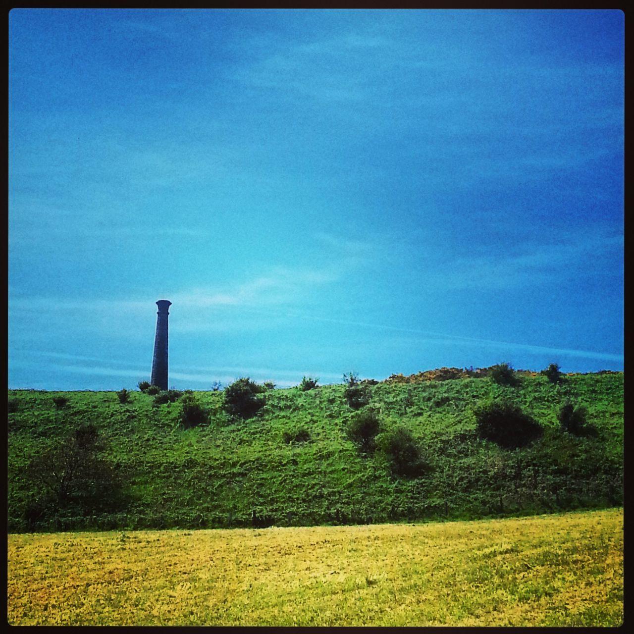 Wellington Monument On Pen Dinas Hill Against Sky