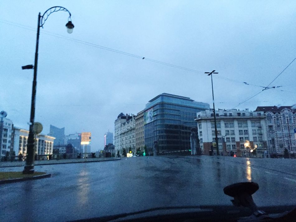 Morning view molenbeek