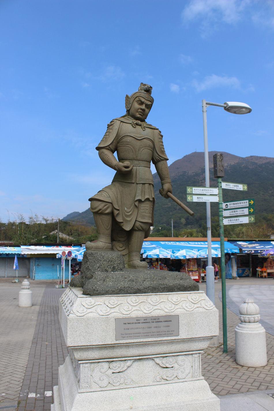 Outdoors Statue Sculpture No People Day HongKong Travel Photography Cultures Tian Tan Buddha (Giant Buddha) 天壇大佛
