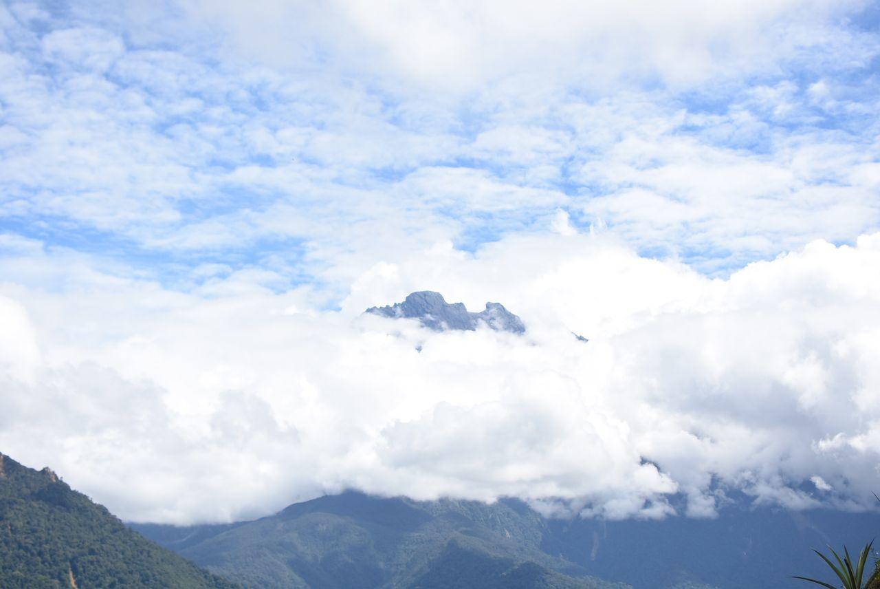 Beauty In Nature Cloud Cloud - Sky Day Kinabalu Kinabalu National Park Kinabalu Park Landscape Low's Peak Mount Kinabalu Mountain Mountain Kinabalu Mountain Peak Mountain Range Nature No People Outdoors Scenics Sky Snow