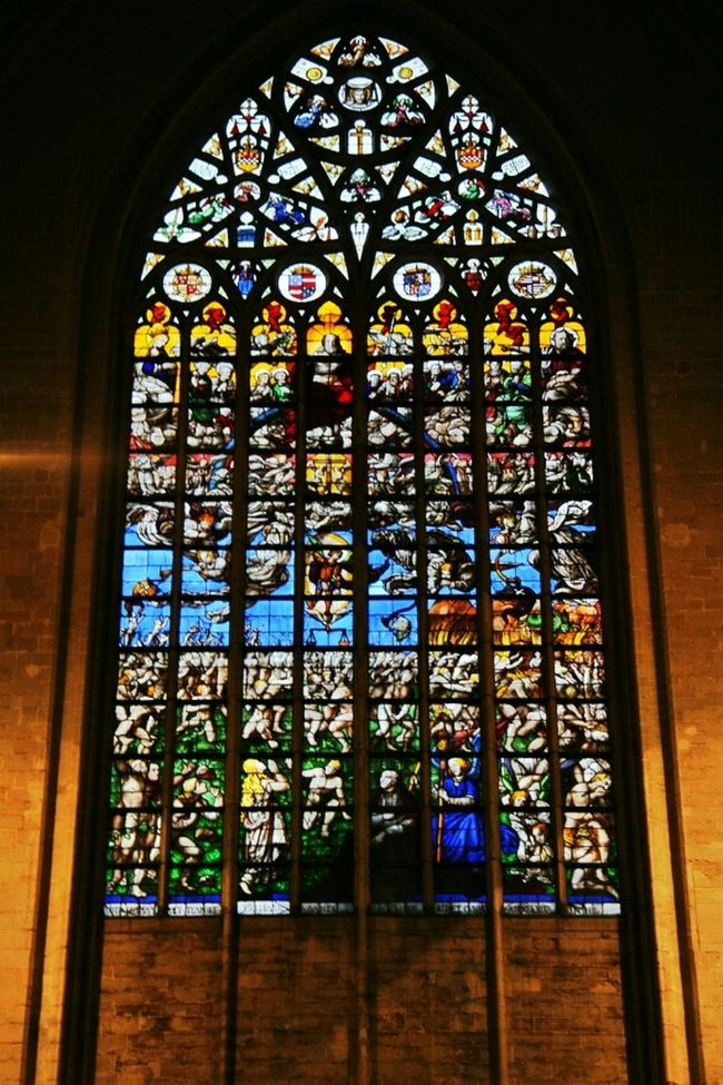 Architecture Church Brussels Cathedral Eye4photography  Ee_daily Rose Window Catherine Window Compressed Photo