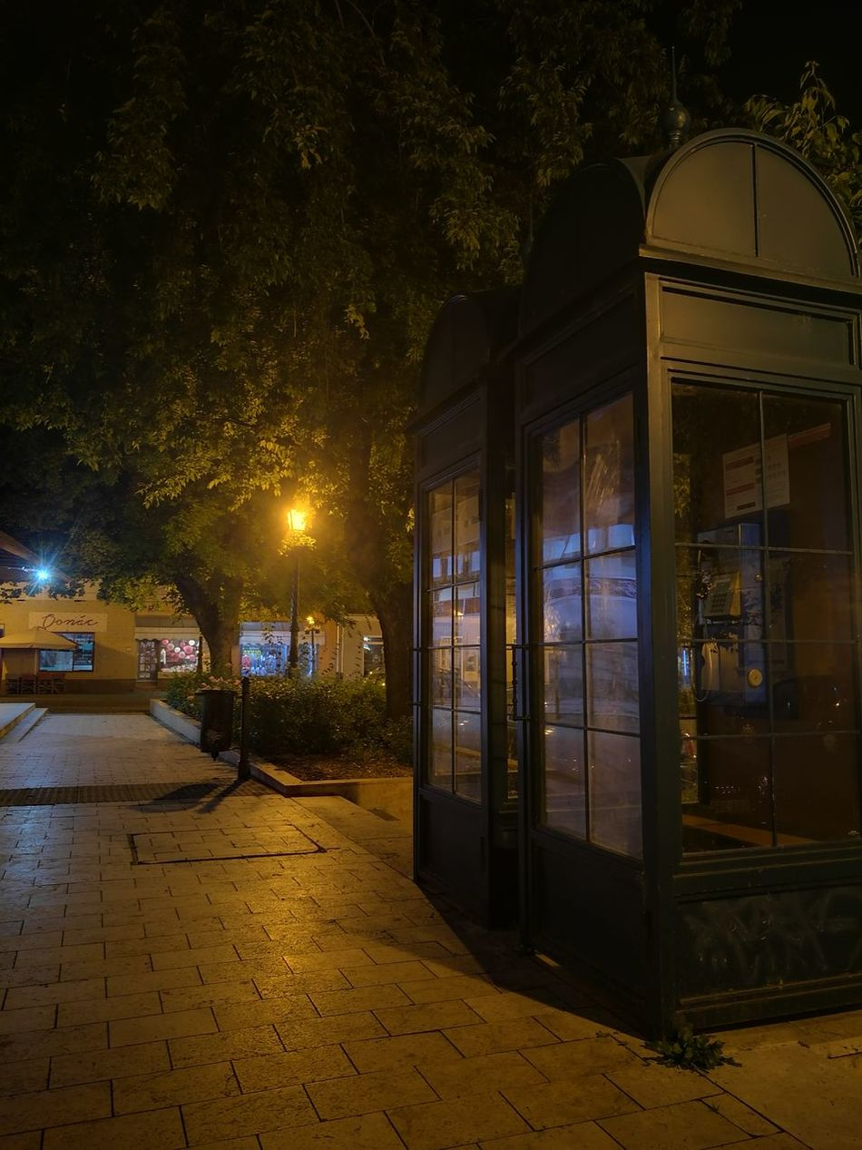 Cities At Night Vac Call Box City Night