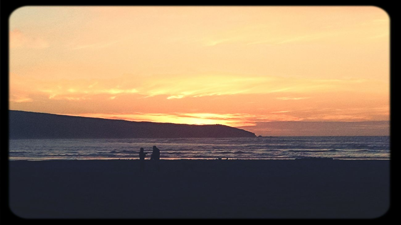 Lovely Sunset And Clouds  at Dillon Beach Beach Photography