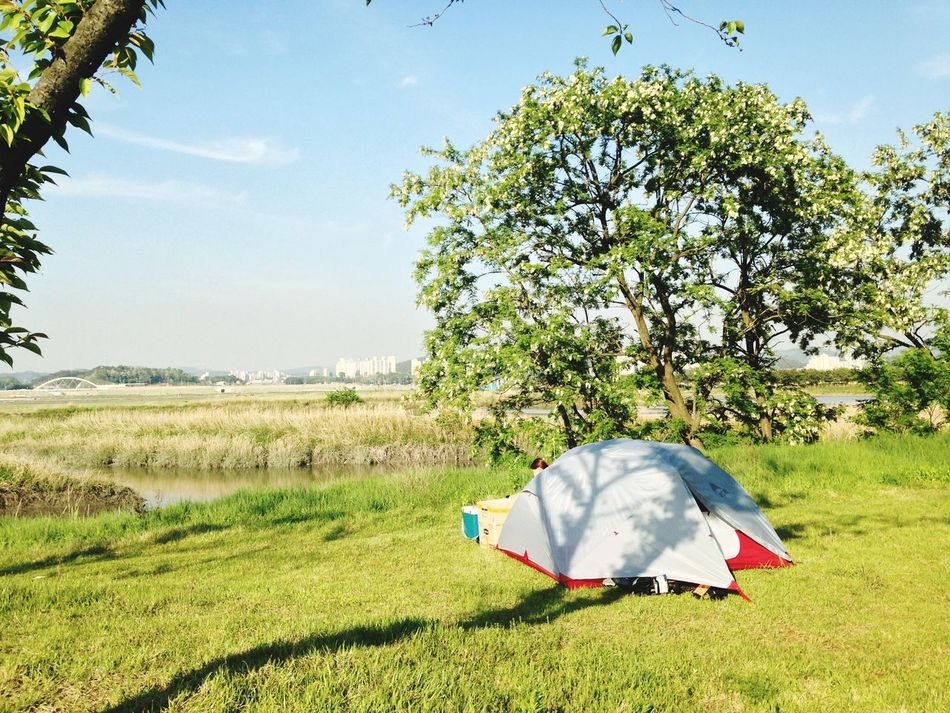 Beautiful stock photos of camping, Beauty In Nature, Camping, Day, Field
