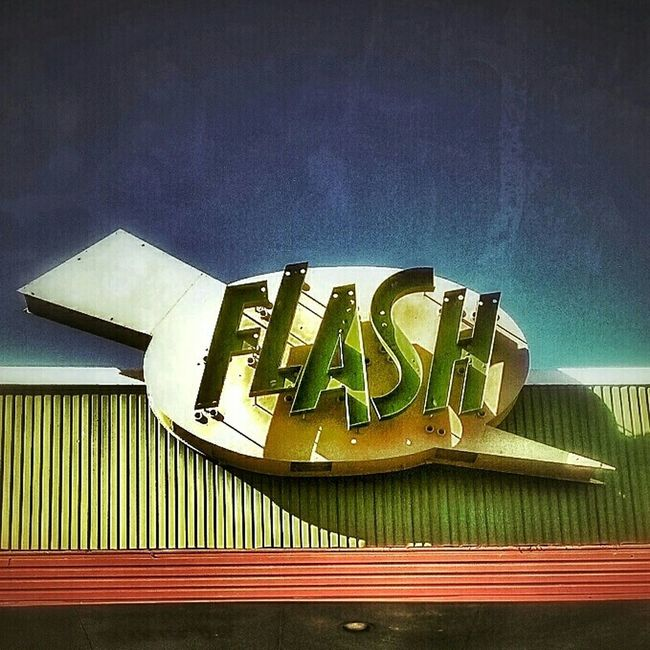 The Flash... Vintage Signs Sign, Sign, Everywhere A Sign Neon Sign Signstalkers AMPt - My Perspective AMPt - Street