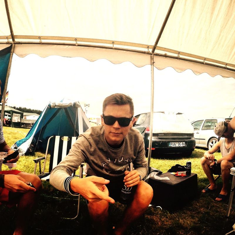 Festival Airbeatone Camping Hanging Out That's Me Hangover Gopro