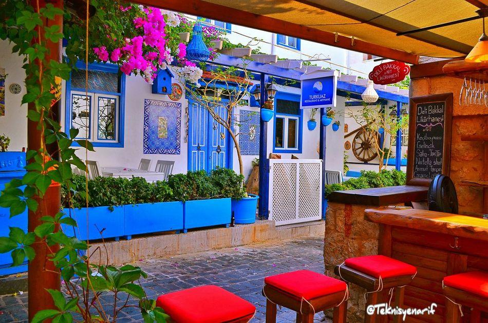 Kaş turkuaz resteurant Kas Restaurant Turkuaz Streetphotography Sokak