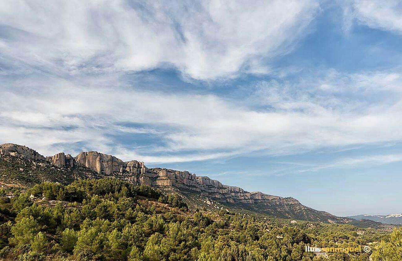 Priorat Mountains Catalonia Landscape SPAIN Clouds Nature Tourism Mediterranean