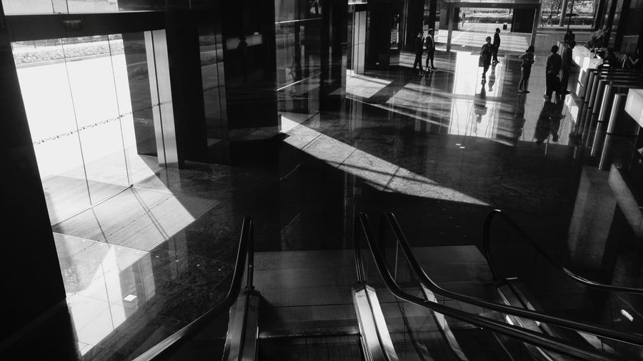 After rush hour. Street Photography Urban Landscape Urban Theneighbourhoodseries Singapore Blackandwhite Black & White Lines Light And Shadow Shadowplay Top View