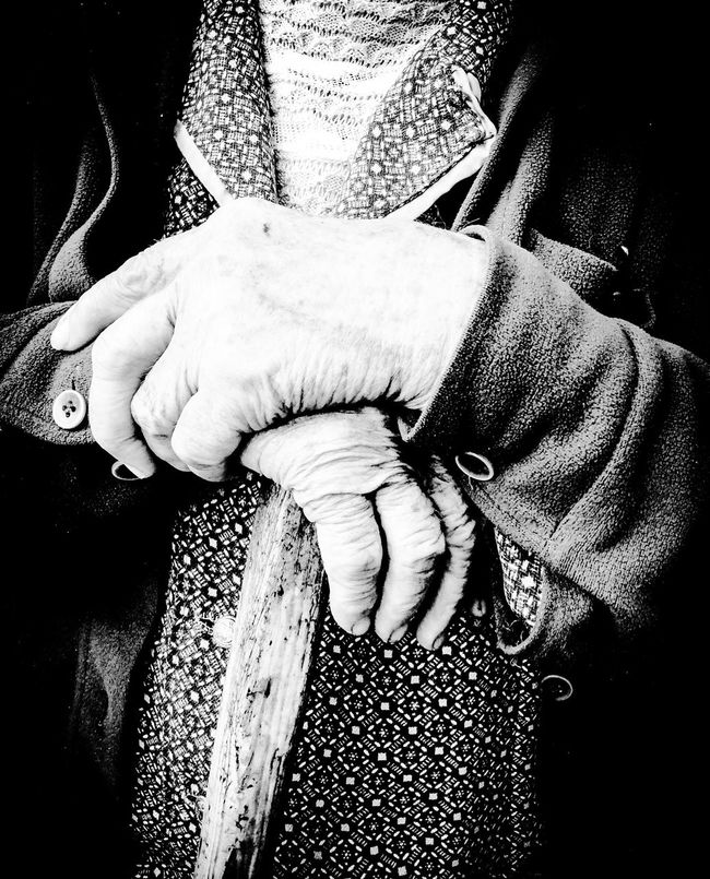 Affectionate Bonding Care Casual Clothing Couple - Relationship Friendship Girlfriend Grandma Holding Hands Human Relationship Lifestyles Love Midsection Person Ring Romance Togetherness Village Village Photography Village View Wrinkled