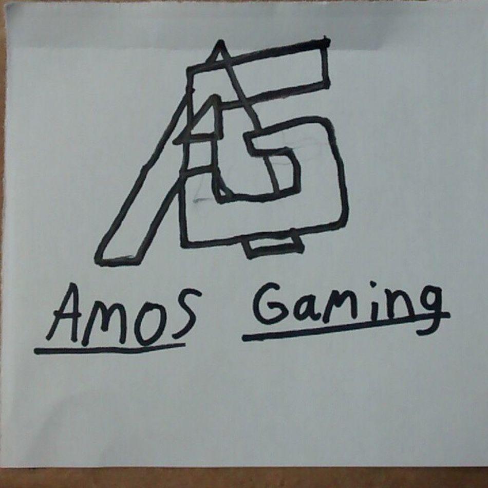 Better drawing of my logo. AGaming Drawing Whiteandblack Follow4follow followforfollowlikeforlikelike4likespam4spam