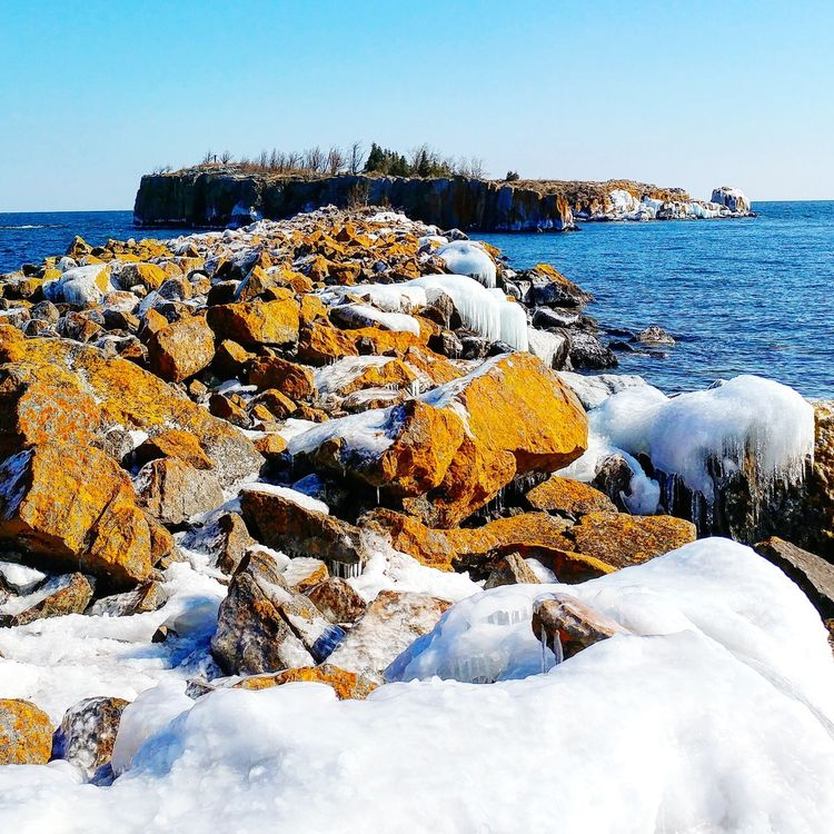 🌞 Obstacles, or a new adventure??...Go, or you'll never know! Rock - Object Nature Outdoors Sunlight Day Clear Sky Sea Non-urban Scene Scenics Sky No People Tranquil Scene Life Is Beautiful Rock Barrier Water Rocks And Water Rock Reef Hiking Adventures North Shore Lake Superior Thenorthshore Godsbeauty Bluewater