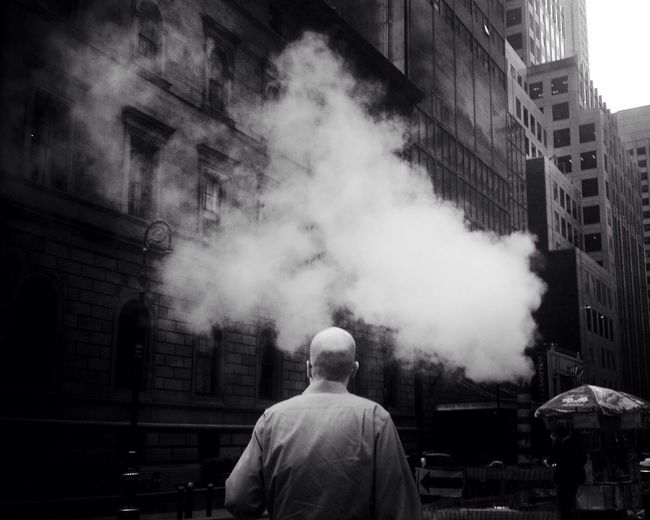 The cloud of dreams. The Street Photographer - 2015 EyeEm Awards Newyorkcity Blackandwhite Streetphotography Streetphoto_bw AMPt_community