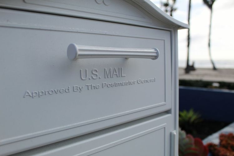 Communication Day No People Public Mailbox Close-up Outdoors Oceanside, Ca