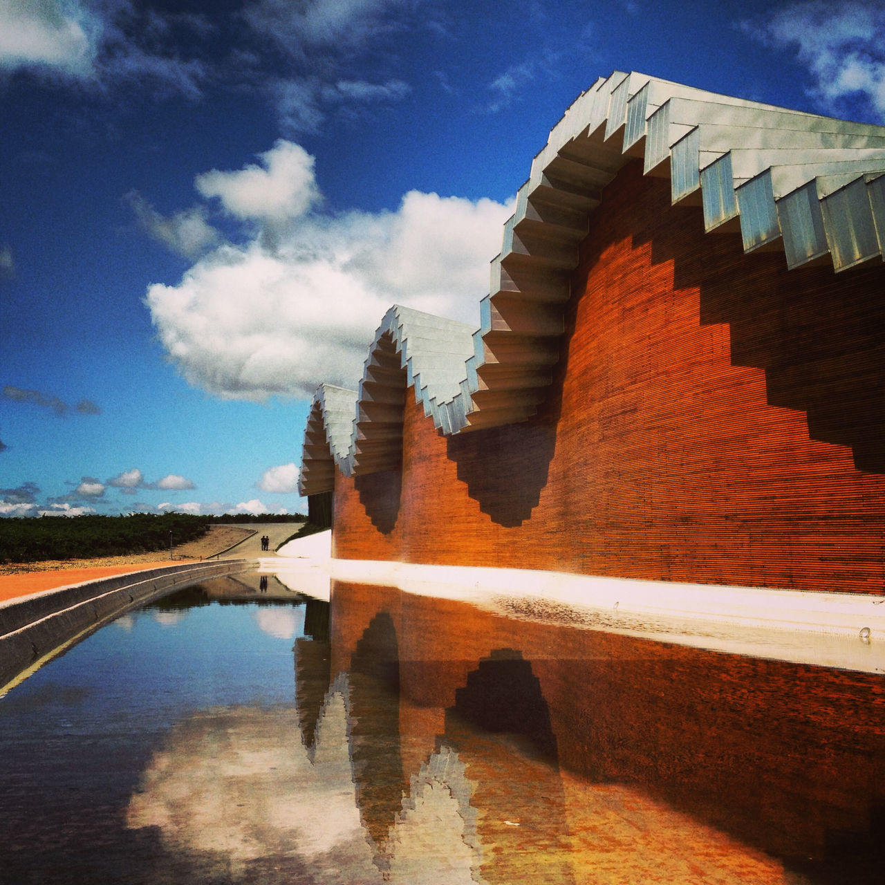 Beautiful stock photos of wine, Agriculture, Architecture, Bodegas Ysios, Building Exterior