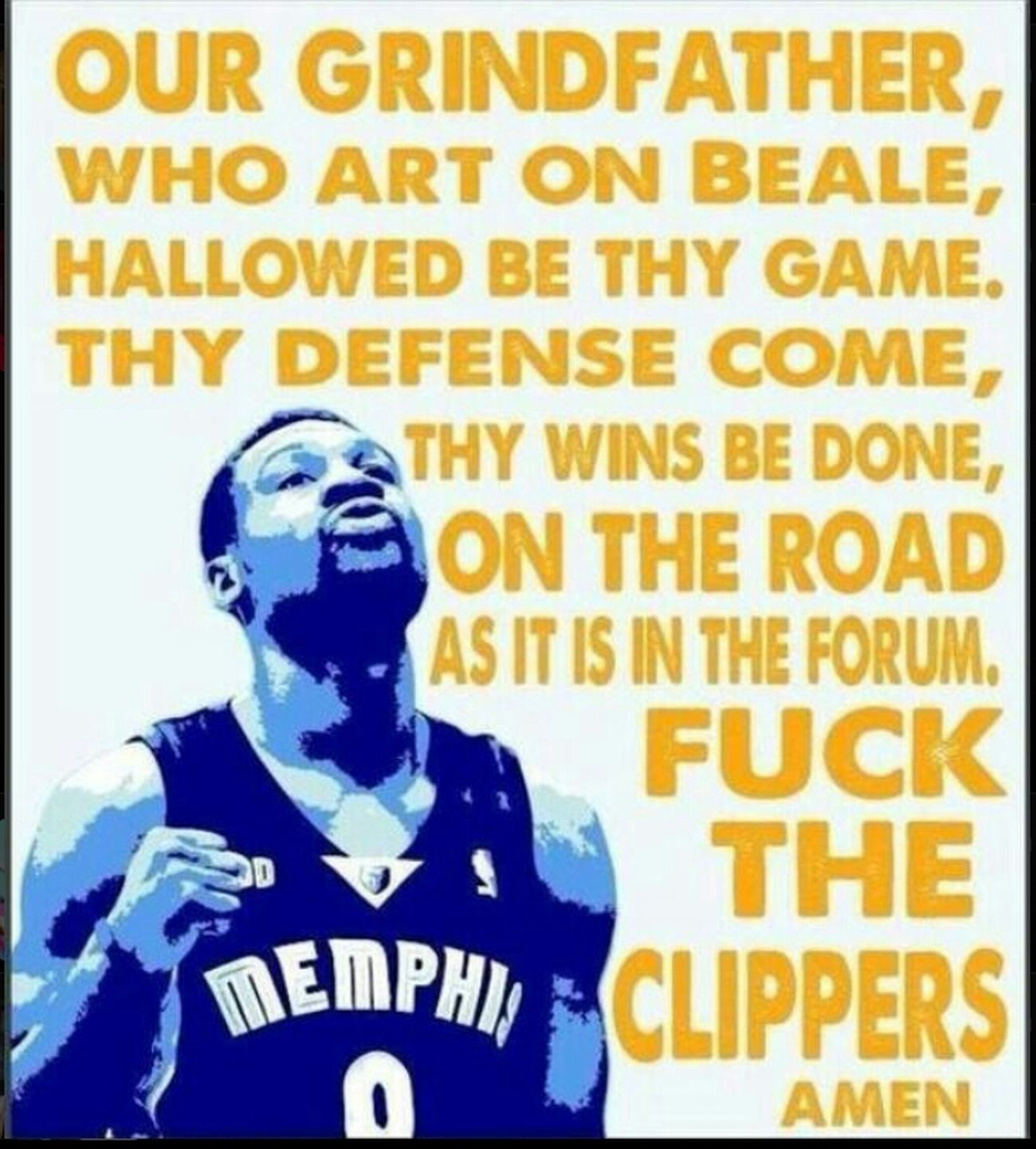 Memphis Grizzlies GrindFather GrizzCoutry