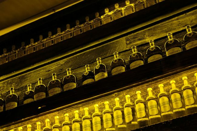 Alcohol Bottles Decor
