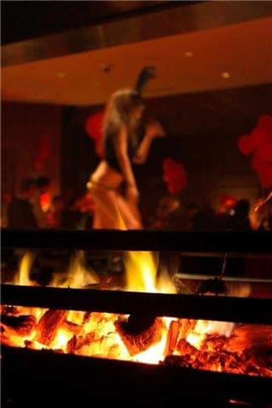 Flame Blurred Motion Defocused Real People One Person Leisure Activity Open Flame Grill Dancing Fire