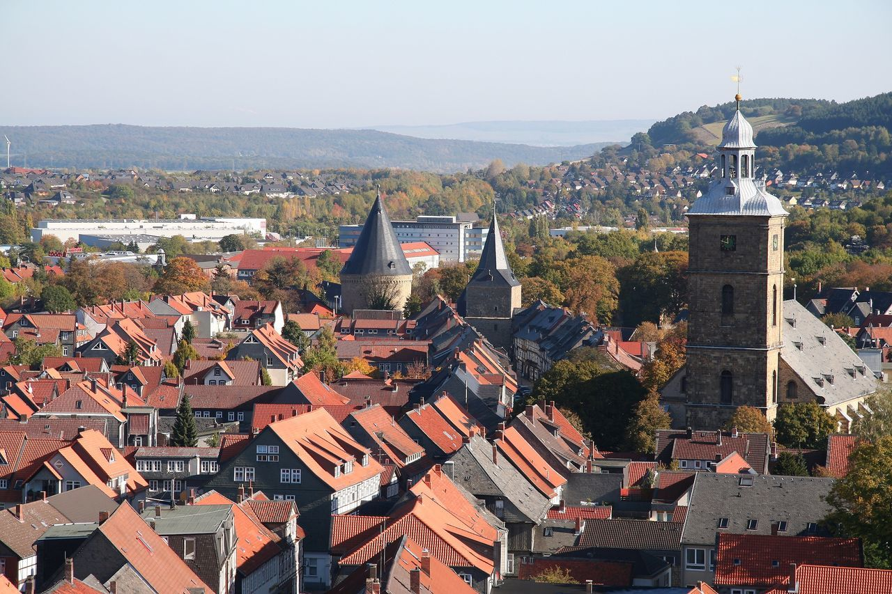 Goslar Breites Tor Niedersachsen Kirchblick OverviewPoint Overview