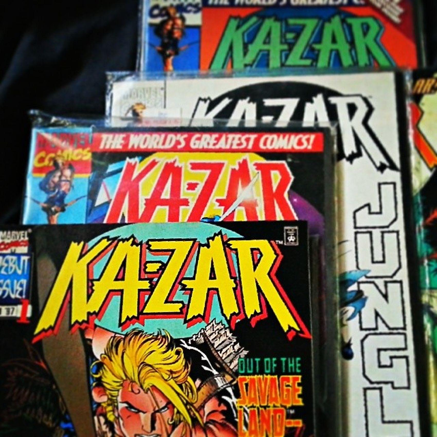 17 years in my shelf. Kazar Marvelcomics Andykubert Markwaid