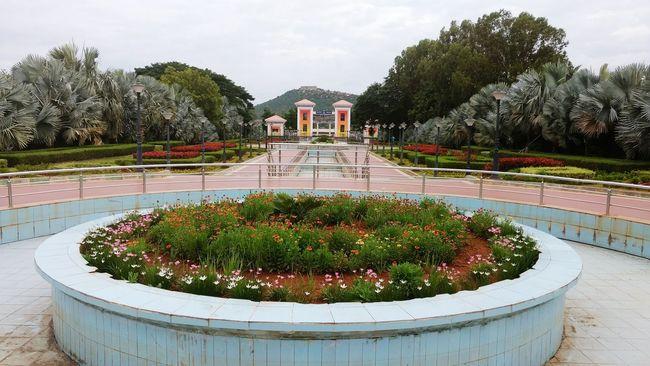 Almatti Dam Vijayapura Musical Fountain Long View Mountain Moto G4 Plus