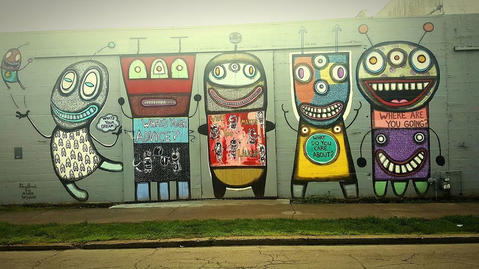 Graffiti Art And Craft Street Art Business Finance And Industry Outdoors Day No People Painted Image Art Is Everywhere