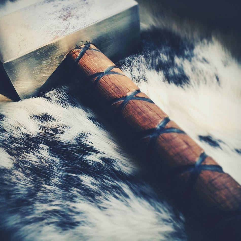 Showcase April Thor  Hammertime🔨 Tradition Might Fur Wood Metal Vikings  Germania Raw Norway God Thunder Weather Goddess