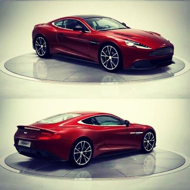 Astonmartin aka SuchoVPysku Vanquish Red devil angel car carporn rims gorgeous luxurious fancy