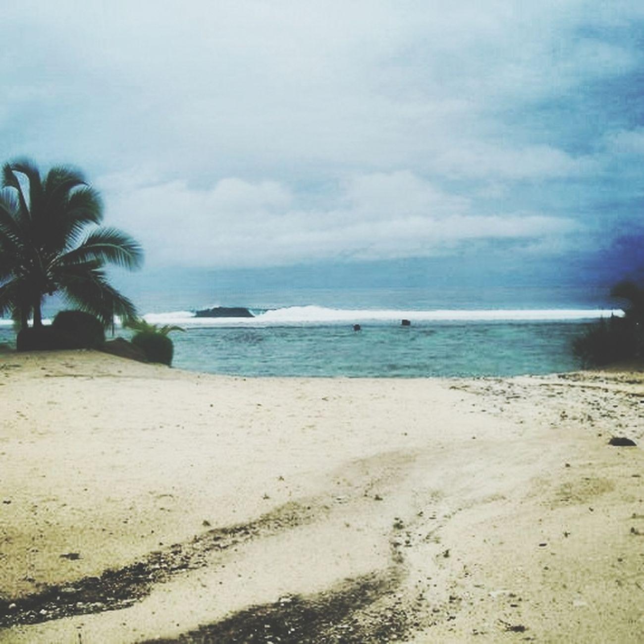 Miss this place of serenity & peace! Rarotonga Cook Island Beautiful View
