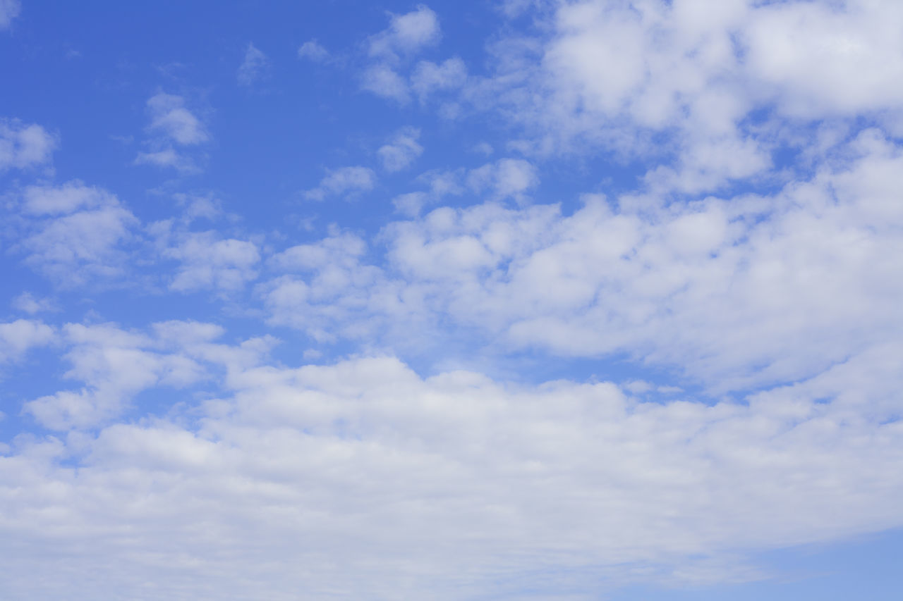 cloud - sky, blue, sky, beauty in nature, nature, low angle view, sky only, scenics, backgrounds, tranquility, outdoors, no people, day