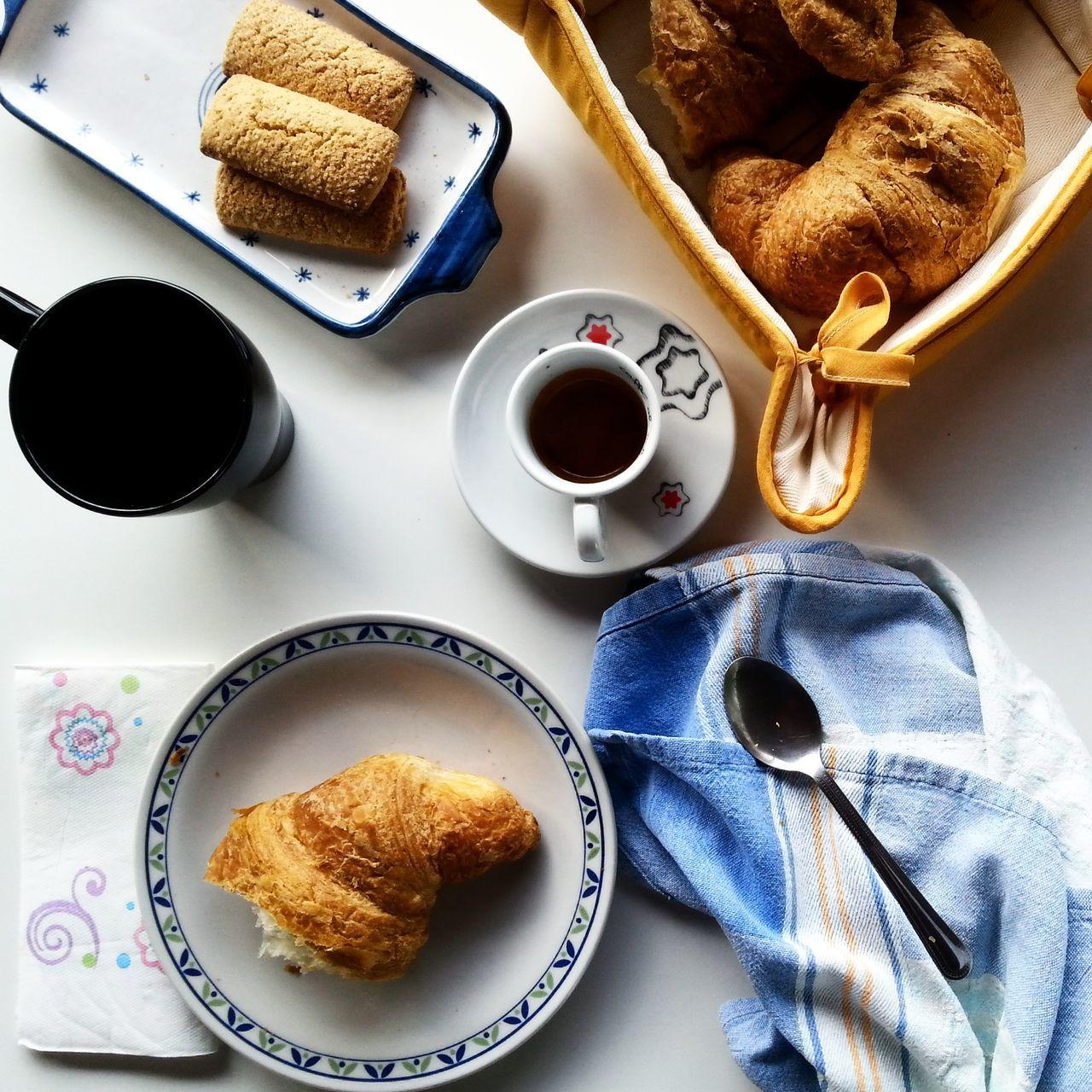 Beautiful stock photos of breakfast, Baked Pastry Item, Breakfast, Coffee, Coffee Cup