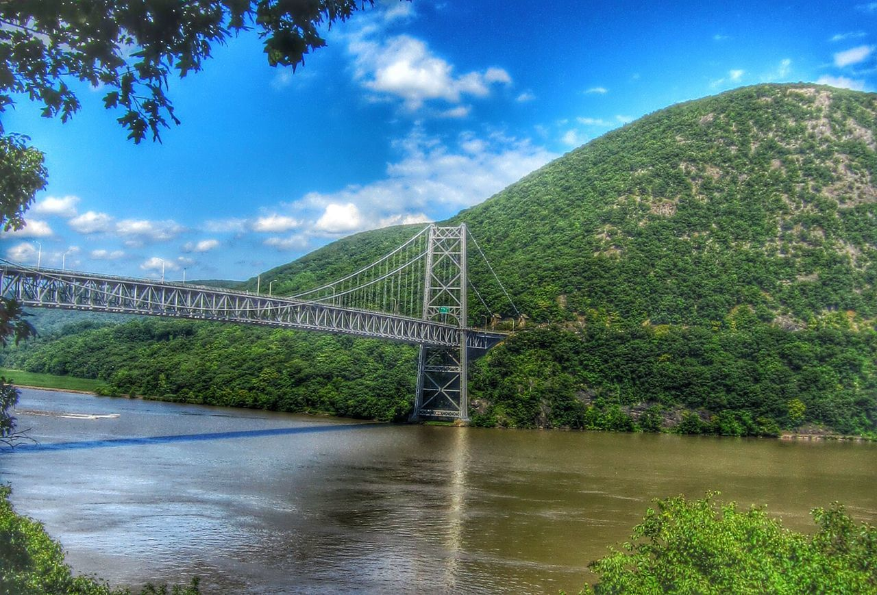 Bear mountain bridge Bridge Bridge - Man Made Structure Bridges Hudson River Hudson Valley Bear Mountain State Park Bear Mountain Bridge Bear Mountain Goat Trail Green Color Green Greenery Hudson Scenic View Scenic Lookout Scenic Landscapes