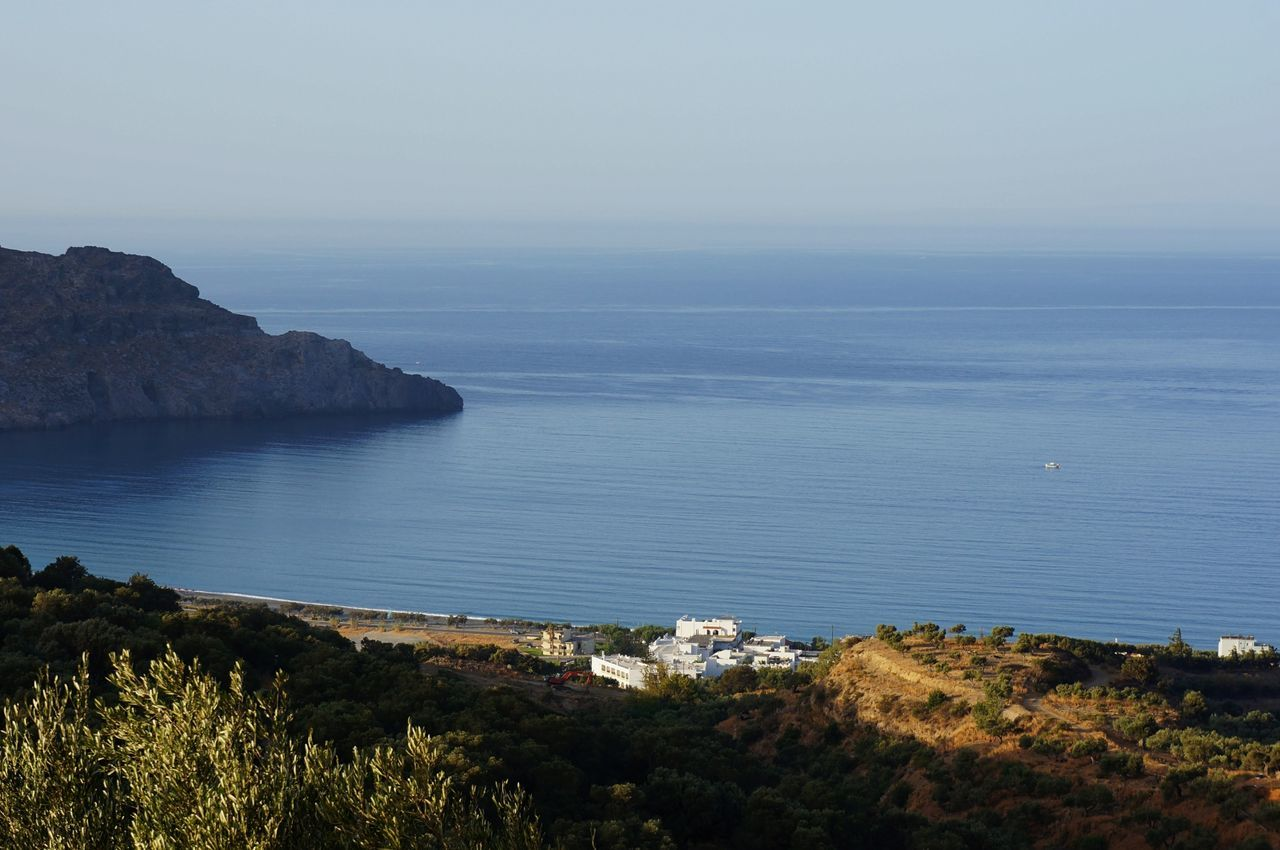 Blue Crete Day Leisure Mediterranean Sea Morning No People Outdoors Plakias Seascape Tourism Traquility Travel Traveling