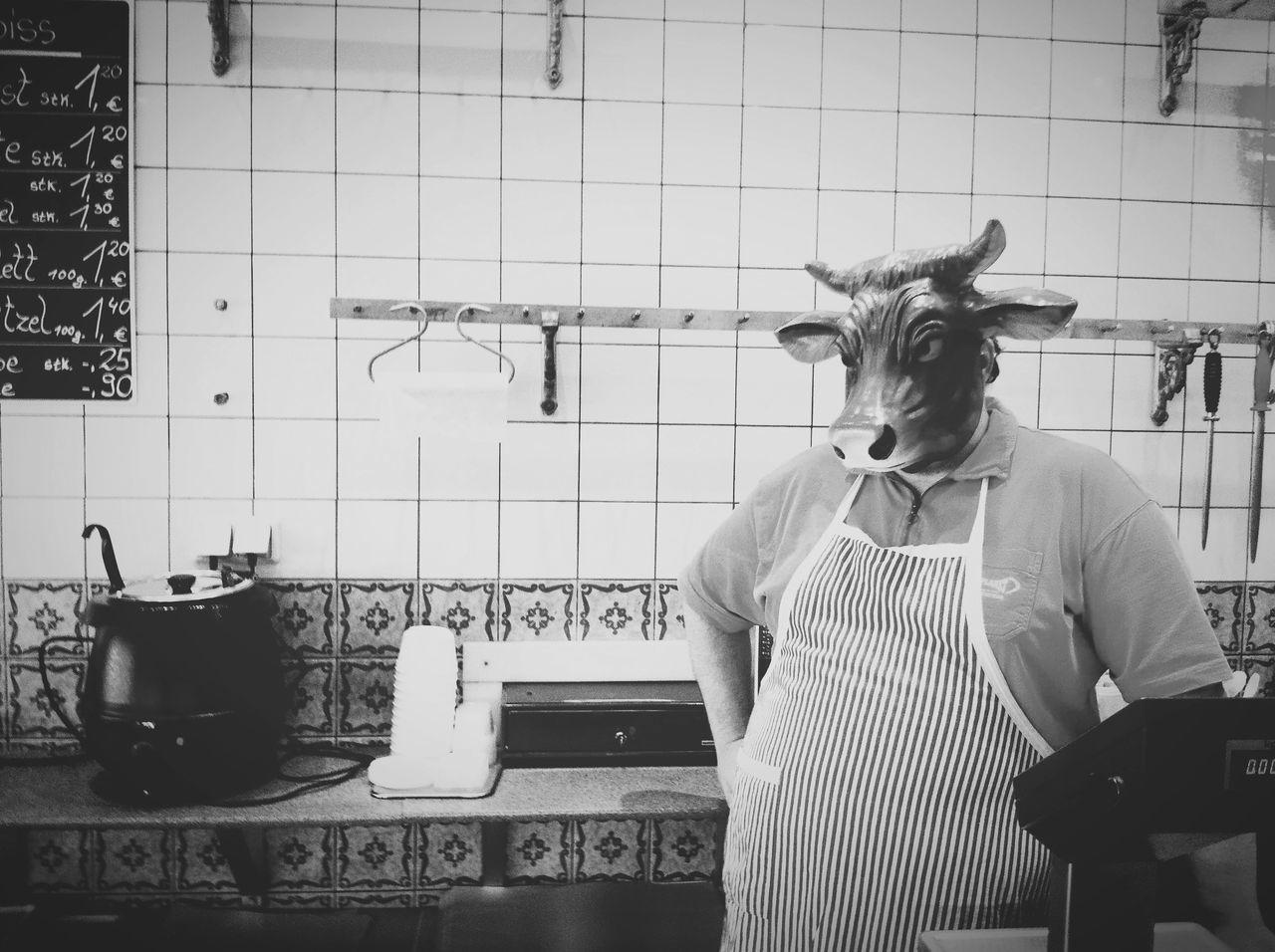 Beautiful stock photos of kitchen, Adult, Animal Representation, Apron, Front View