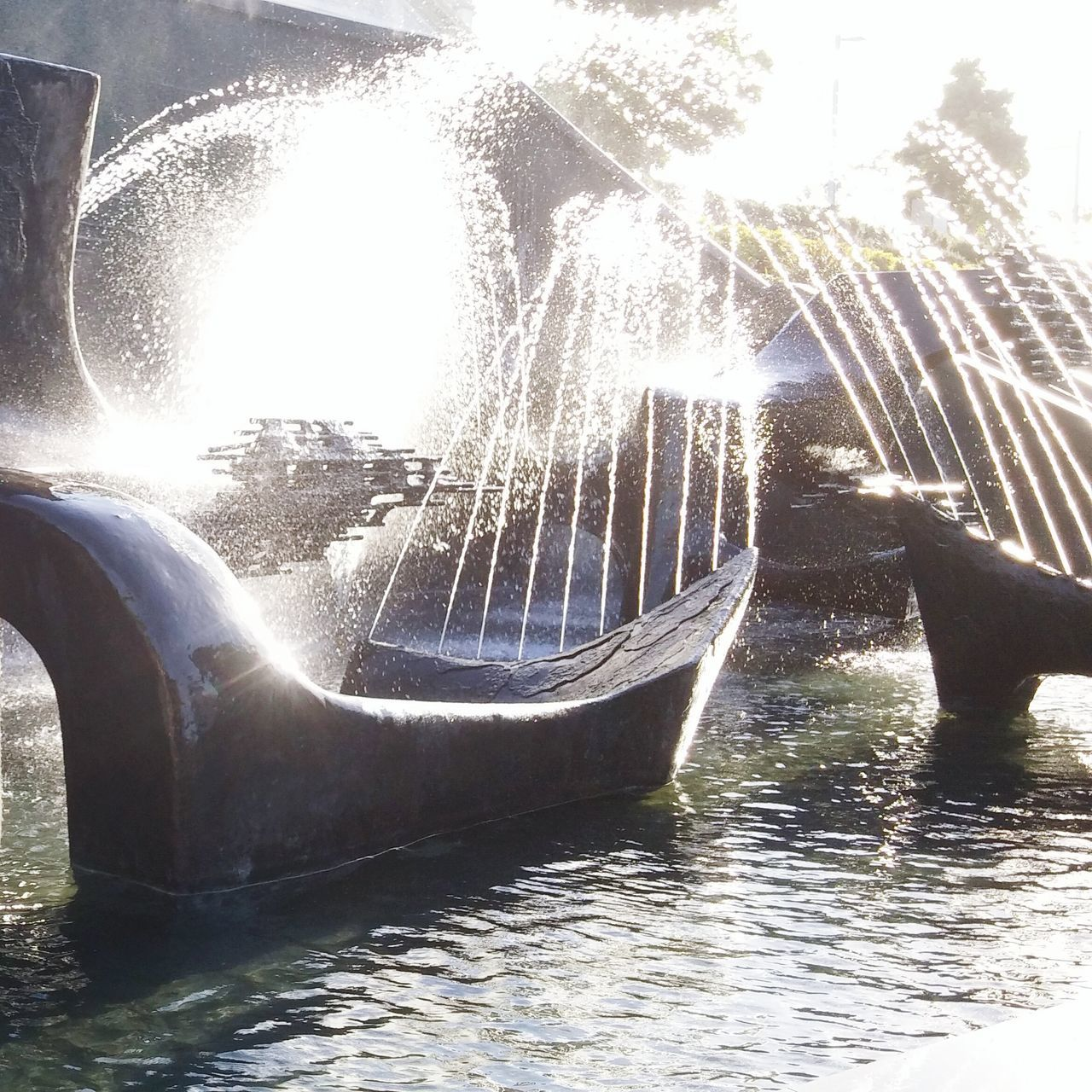 Fountain Newcastle NSW, Australia Newcastle Water Spray Sculpture Civic Park Day Outdoors No People Nature Pond Ripples The City Light