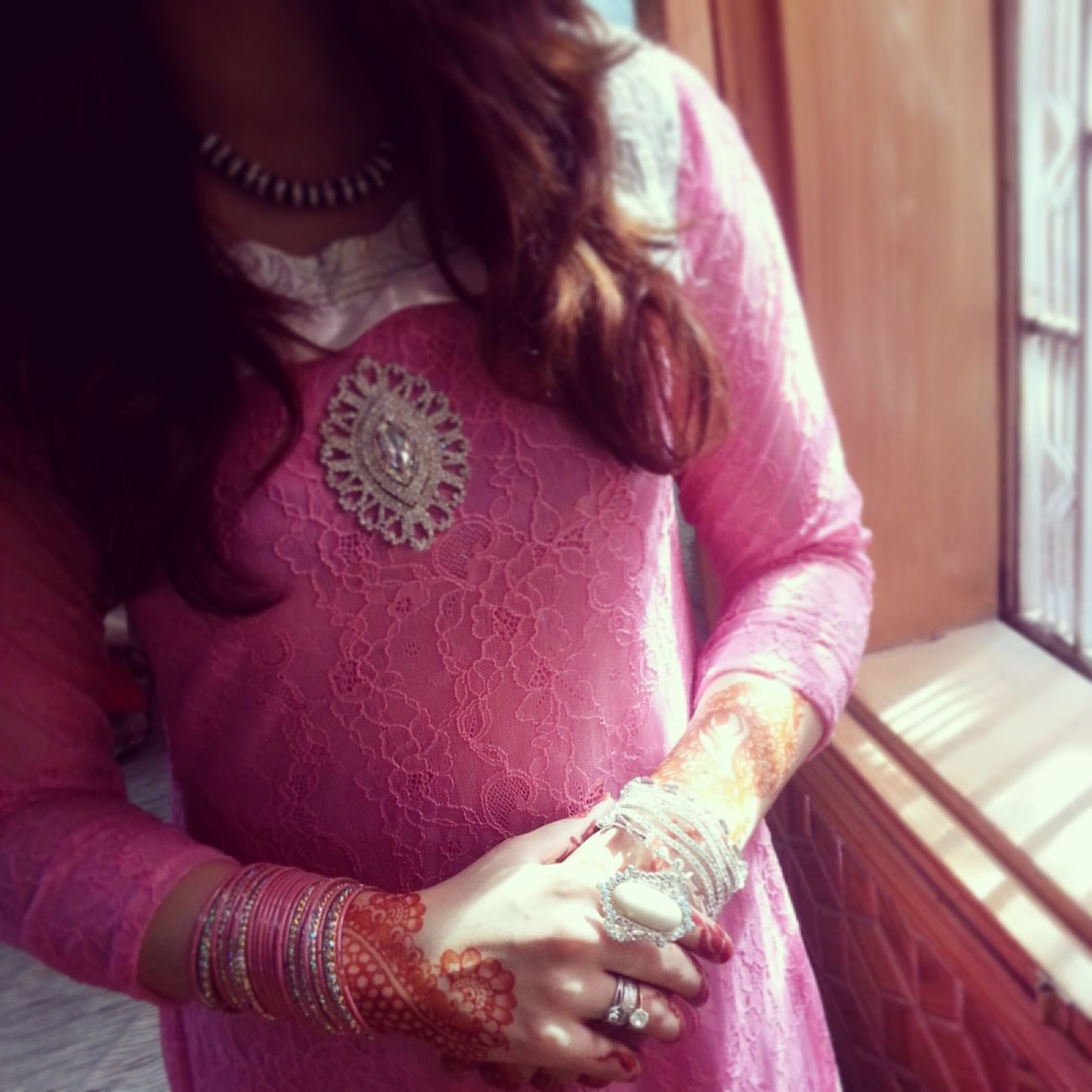 Pink Dress❤ Eid