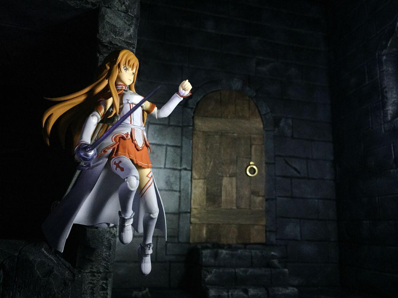 Asuna SwordArtOnline Sao Anime Toyphotography Toycollector Castle Diorama