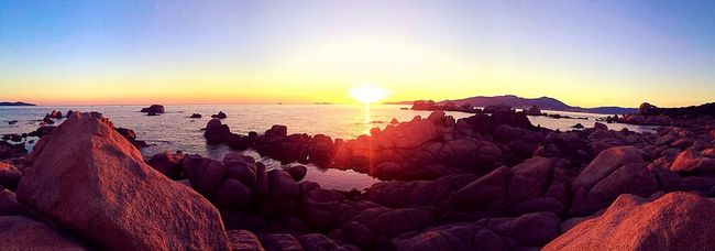 Magical moment in Corsica