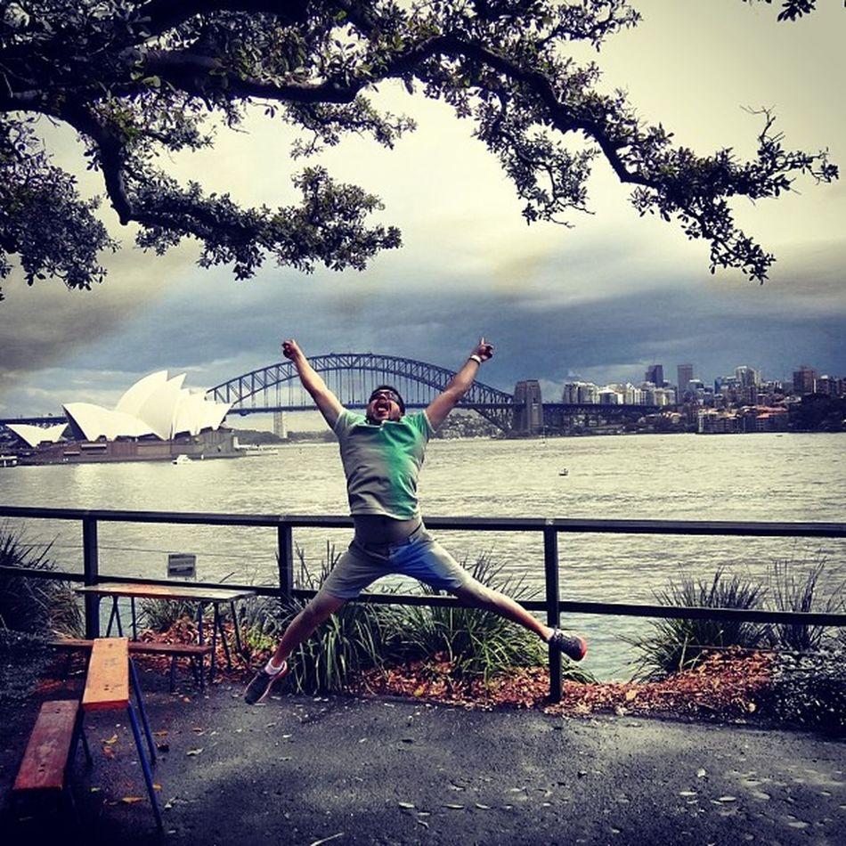 Nothing beats a good jump!!! Sydney Harbourbridge Sydney Opera House Sydney Harbour Bridge Australia
