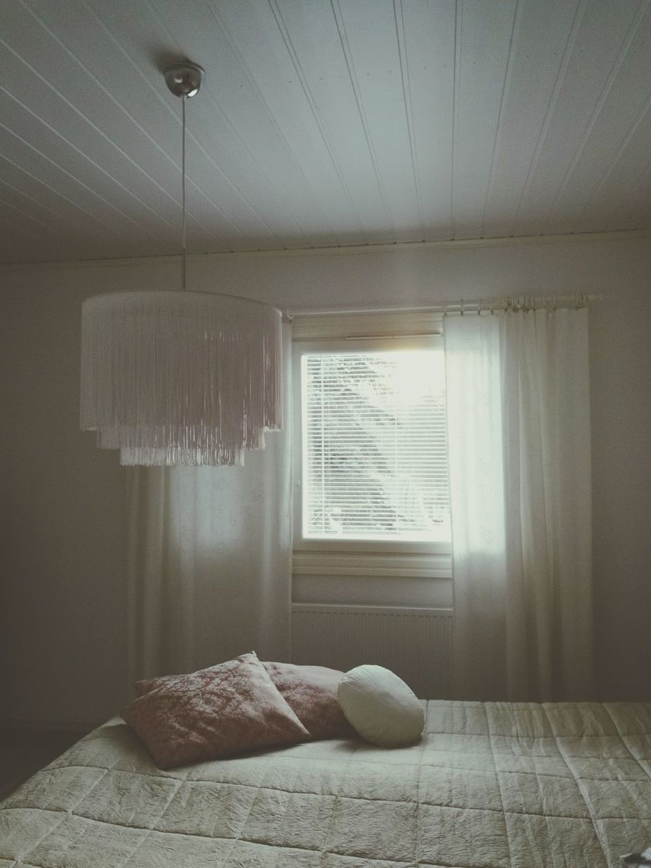 Bedroom Window Pillows Rosy