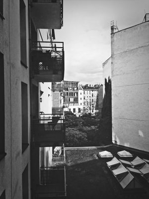 From My Window in Berlin by Uecker
