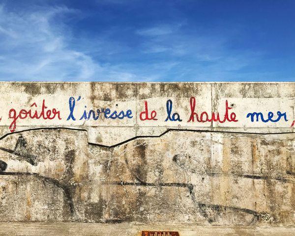 Graffiti Communication No People Text Outdoors Blue Streetart France