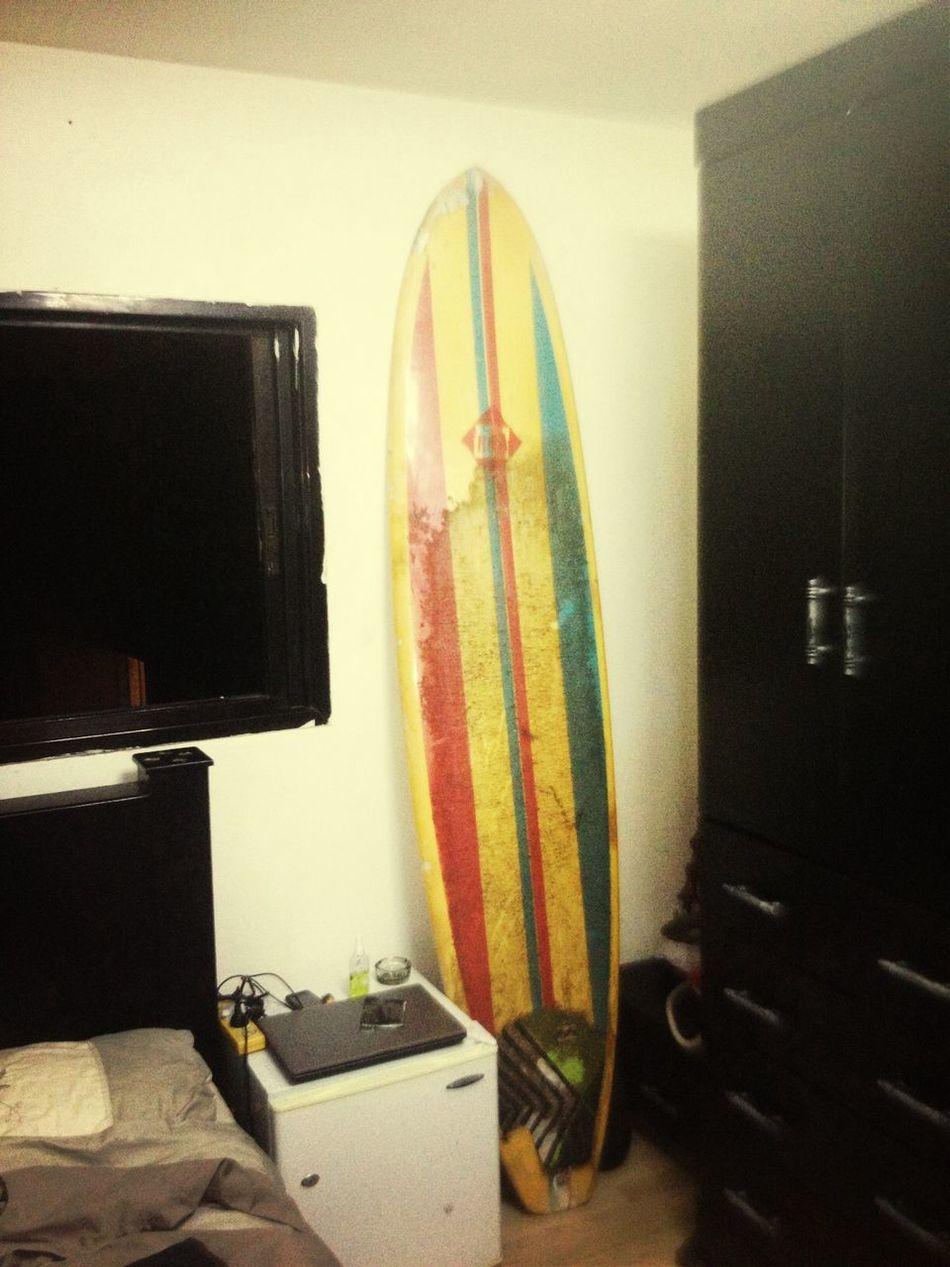My board Surfin'