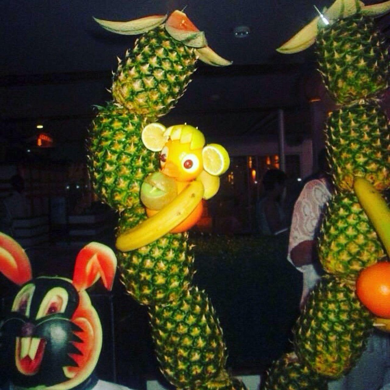 animal representation, celebration, food and drink, fruit, food, night, no people, illuminated, freshness, indoors, dragon, chinese dragon, close-up