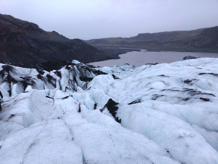 Landscape Beauty In Nature Mountain Outdoors No People Solheimajokull Glacier Glacier Sólheimajökull Iceland South Coast Impressive Nature