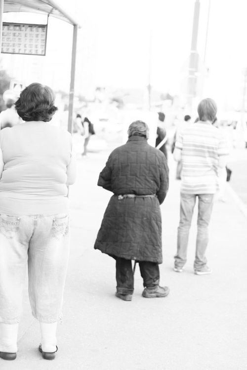 People Rear View Black & White B&w Photography Outdoors Bums
