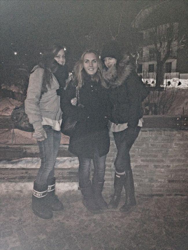 Friends Winter Happynewyear2014