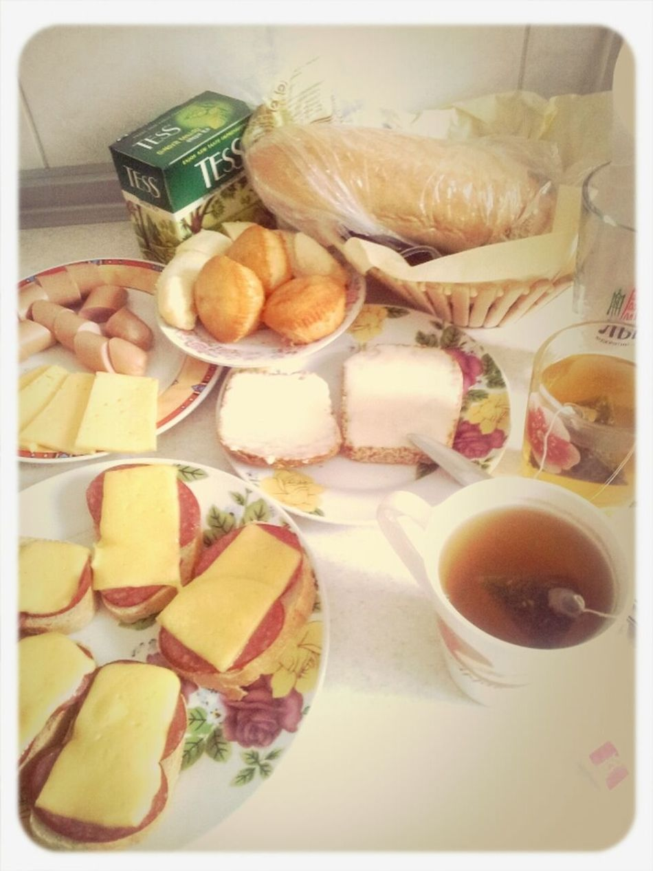 Our Breakfast With Mommy And Granny)