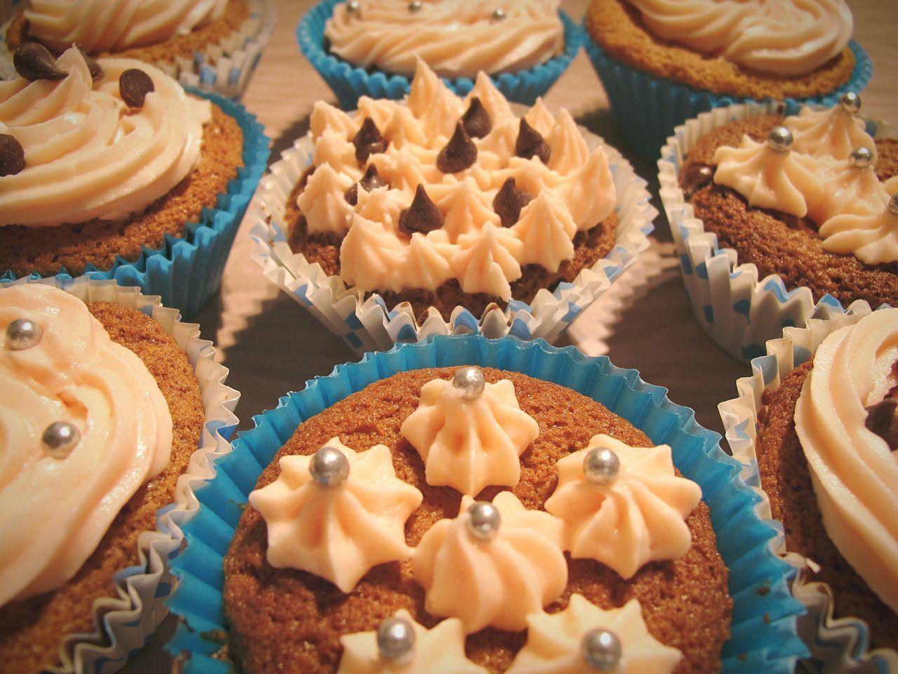 Beautiful stock photos of cupcake, Arrangement, Cupcake, Dessert, Food